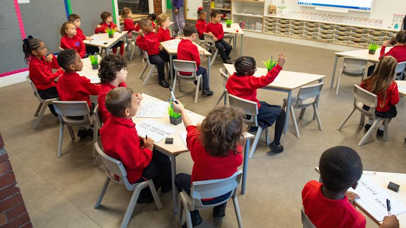 Countries with smaller class sizes may find it 'easier to socially distance'
