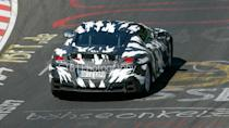 """<p>However, it swapped out the road car's electrified twin-turbo 3.5-liter V6 for a 2.0-liter unit channeling power to the rear wheels only. The <a href=""""https://www.motor1.com/news/175001/acura-nsx-gt3-sale-globally/"""" rel=""""nofollow noopener"""" target=""""_blank"""" data-ylk=""""slk:GT3-spec NSX"""" class=""""link rapid-noclick-resp"""">GT3-spec NSX</a> was also revealed in 2016 with a RWD layout and the road car's V6 sans electrification, while the nine-speed auto was replaced by a six-speed sequential gearbox.</p>"""