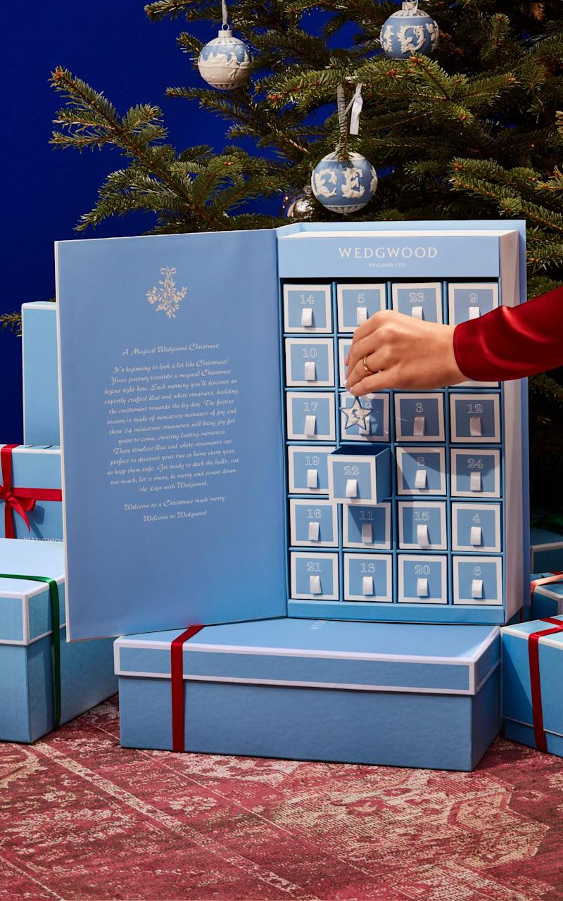 wedgwood advent calendar