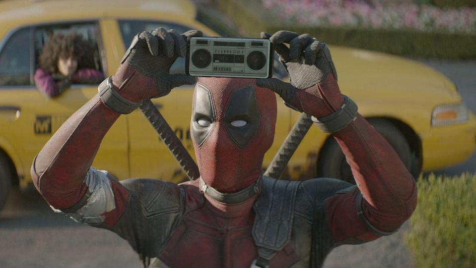 "<p>If you think Deadpool has toned it down between Deadpool and Deadpool 2 — he didn't. This time, he teams up with Colossus and Negasonic Teenage Warhead to fight a time-traveling Cable. A PG-13 version of the film came out under the title <em><a href=""https://www.goodhousekeeping.com/holidays/christmas-ideas/g30200011/funny-christmas-movies/"" rel=""nofollow noopener"" target=""_blank"" data-ylk=""slk:Once Upon a Deadpool"" class=""link rapid-noclick-resp"">Once Upon a Deadpool</a></em>, but it's mostly the same film with the naughtiest bits removed.</p><p><a class=""link rapid-noclick-resp"" href=""https://www.amazon.com/Deadpool-2-Ryan-Reynolds/dp/B07D5KWFJ7?tag=syn-yahoo-20&ascsubtag=%5Bartid%7C10055.g.34426978%5Bsrc%7Cyahoo-us"" rel=""nofollow noopener"" target=""_blank"" data-ylk=""slk:AMAZON"">AMAZON</a> <a class=""link rapid-noclick-resp"" href=""https://go.redirectingat.com?id=74968X1596630&url=https%3A%2F%2Fitunes.apple.com%2Fus%2Fmovie%2Fdeadpool-2%2Fid1382445641&sref=https%3A%2F%2Fwww.goodhousekeeping.com%2Flife%2Fentertainment%2Fg34426978%2Fx-men-movies-in-order%2F"" rel=""nofollow noopener"" target=""_blank"" data-ylk=""slk:ITUNES"">ITUNES</a></p>"
