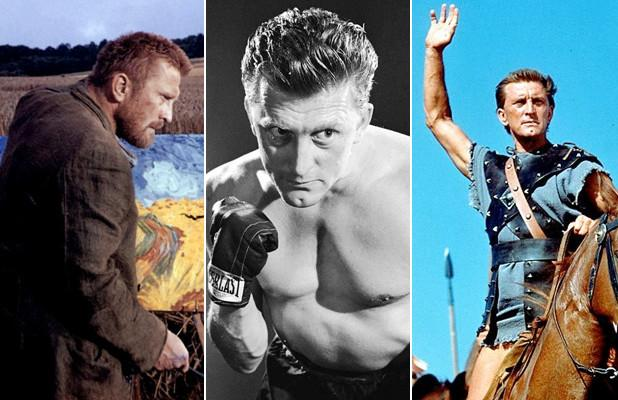 Kirk Douglas' 10 Most Memorable Movies, From 'Spartacus' to 'The Man From Snowy River' (Photos)