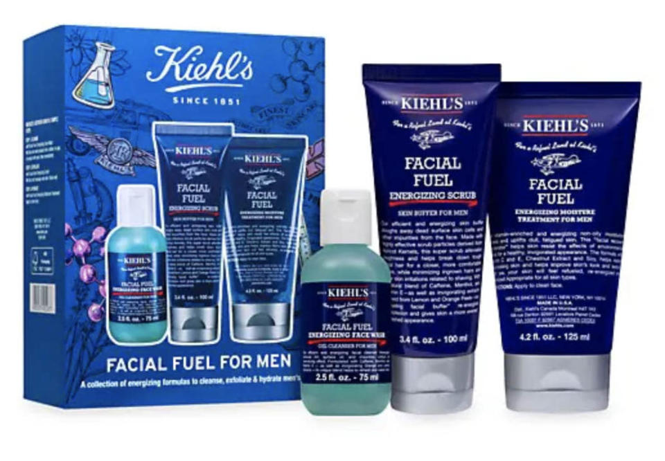 best fathers day gifts, Kiehl's Facial Fuel for Men