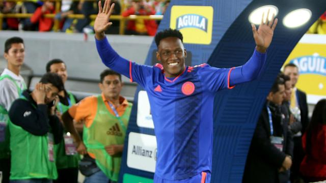 Yerry Mina featured only occasionally last season with Barcelona and Colombia coach Jose Pekerman is not impressed with his treatment.