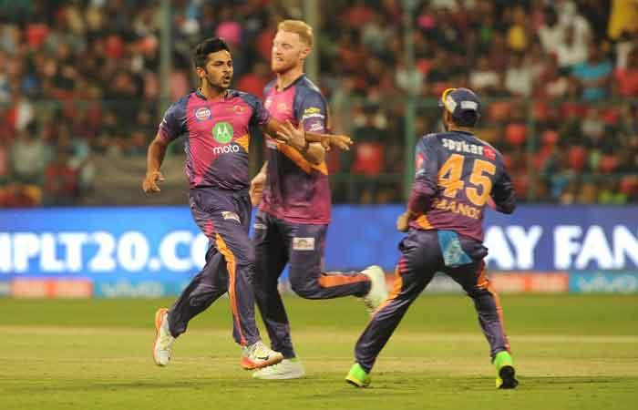 IPL 2017: Pune post 161/8 against Bangalore