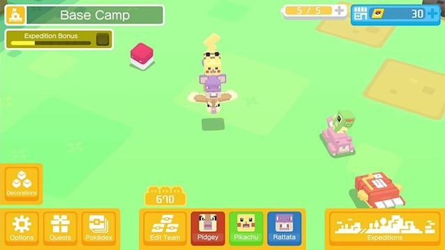 'Pokémon Quest' is an even more laid back version of traditional 'Pokémon' games, which makes for a great mobile game.