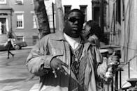 "<p>Biggie Smalls met his end on March 9, 1997, when he was killed in a drive-by shooting, just a few months after his rival Tupac suffered the same fate. That connection had media and watercooler investigations pointing to the red hot East Coast-West Coast hip-hop feud as a murder motive. Twenty years later, the case <a href=""https://www.usatoday.com/videos/life/people/2017/03/09/notorious-b.i.g.'s-murder-still-unsolved-after-20-years/98905050/"" rel=""nofollow noopener"" target=""_blank"" data-ylk=""slk:remains unsolved"" class=""link rapid-noclick-resp"">remains unsolved</a>.</p>"