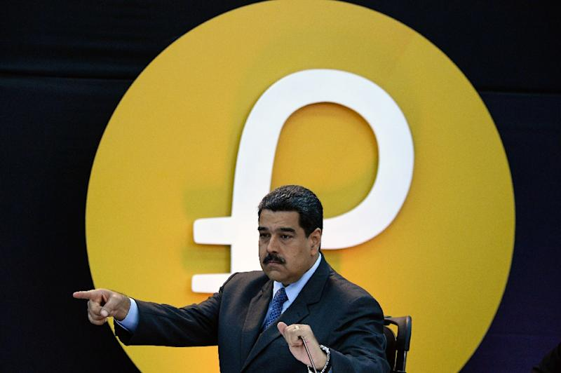 President Nicolas Maduro says the petro will begin working as a currency on October 1, 2018