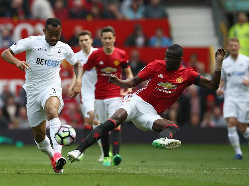 Eric Bailly lunges to make a challenge (Getty Images)