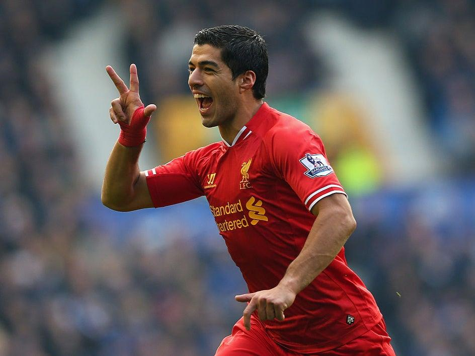 Luis Suarez was sold to Barcelona a year after Arsenal's bid of £40m plus one poundGetty