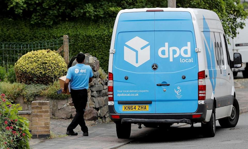 DPD delivers parcels for Marks & Spencer and Asos.