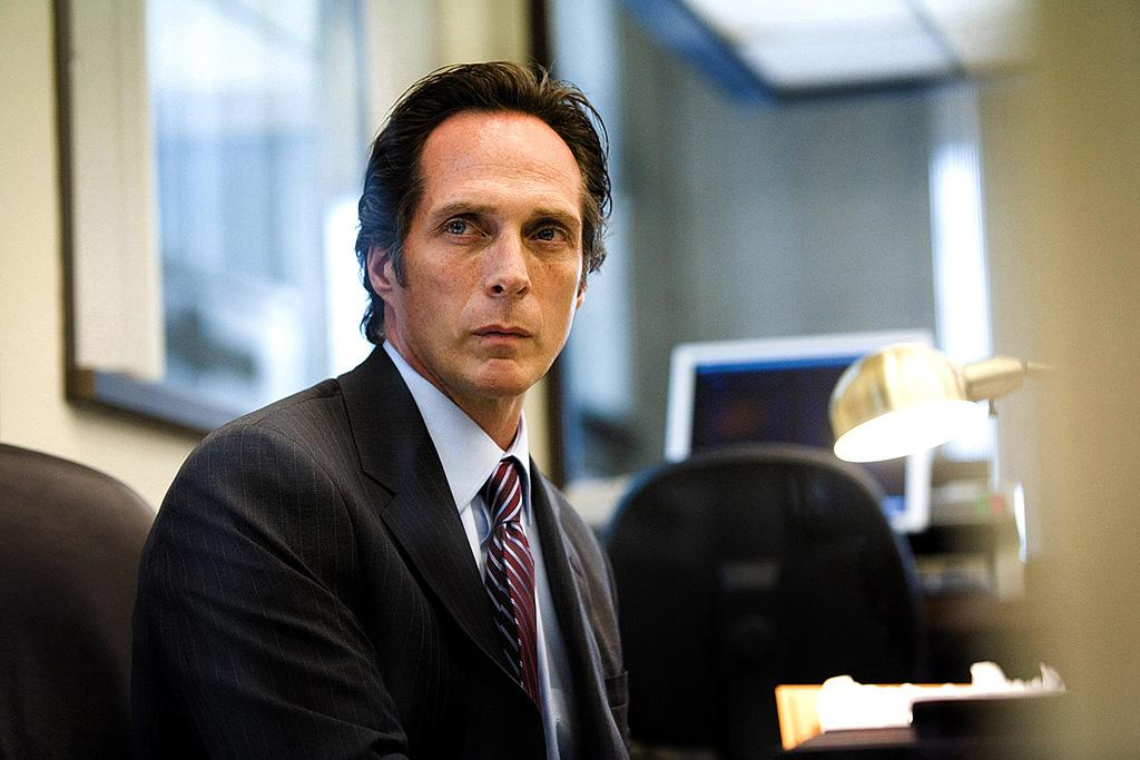 "<a href=""http://movies.yahoo.com/movie/contributor/1800022041"">William Fichtner</a> in Warner Bros. Pictures' <a href=""http://movies.yahoo.com/movie/1809271891/info"">The Dark Knight</a> - 2008"