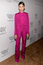 <p>Zendaya's fuchsia Siriano suit at the 2016 Rescue Gala really stands the test of time.</p>