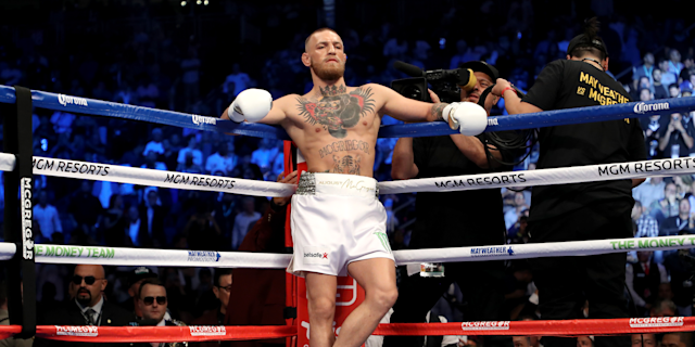 Conor McGregor is back in the headlines for all the wrong reasons after a UFC event on Saturday. (Getty)