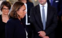 New Italian government led by PM Conte, is sworn in at the presidential palace in Rome