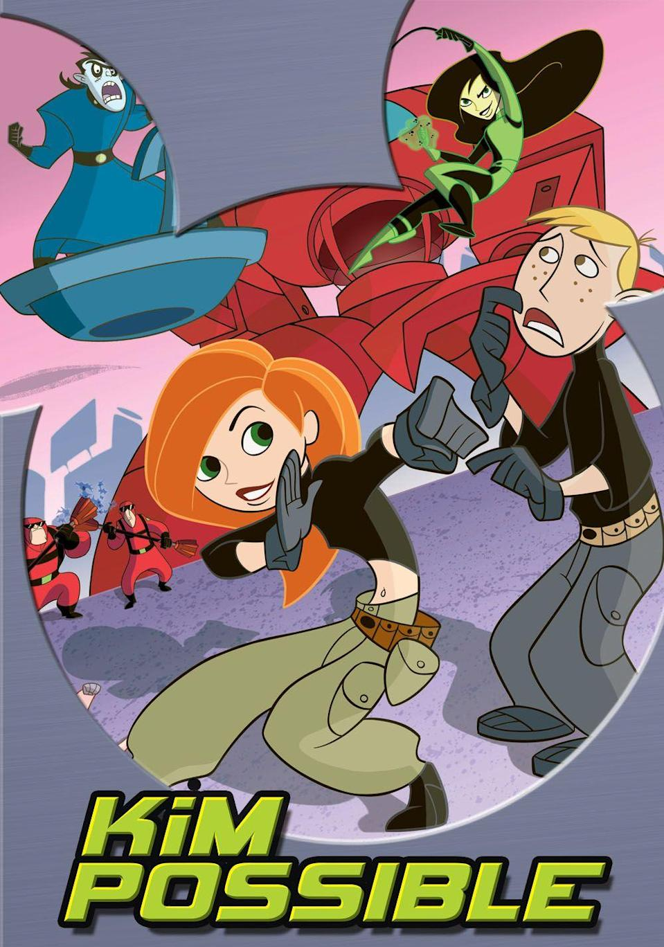 """<p>Since Disney Channel is a crucial part of the Disney family, the live action remake of <em>Kim Possible</em> just had to make this list. </p><p>Christy Carlson Romano and Will Friedle, who played Kim and Ron in the original animated series, helped pick out the new leads for the movie remake. And Sadie Stanley and Sean Giambrone made the cut. Stanley was previously on Nickelodeon's <em>Game Shakers</em>, while Giambrone is currently starring in ABC's <em>The Goldbergs</em>.</p><p><a class=""""link rapid-noclick-resp"""" href=""""https://www.amazon.com/The-New-Ron/dp/B073RRP1VG/?tag=syn-yahoo-20&ascsubtag=%5Bartid%7C10065.g.2936%5Bsrc%7Cyahoo-us"""" rel=""""nofollow noopener"""" target=""""_blank"""" data-ylk=""""slk:Watch the Original"""">Watch the Original</a></p>"""