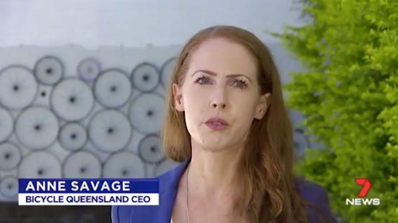 Bicycle Queensland CEO Anne Savage says many cyclists are