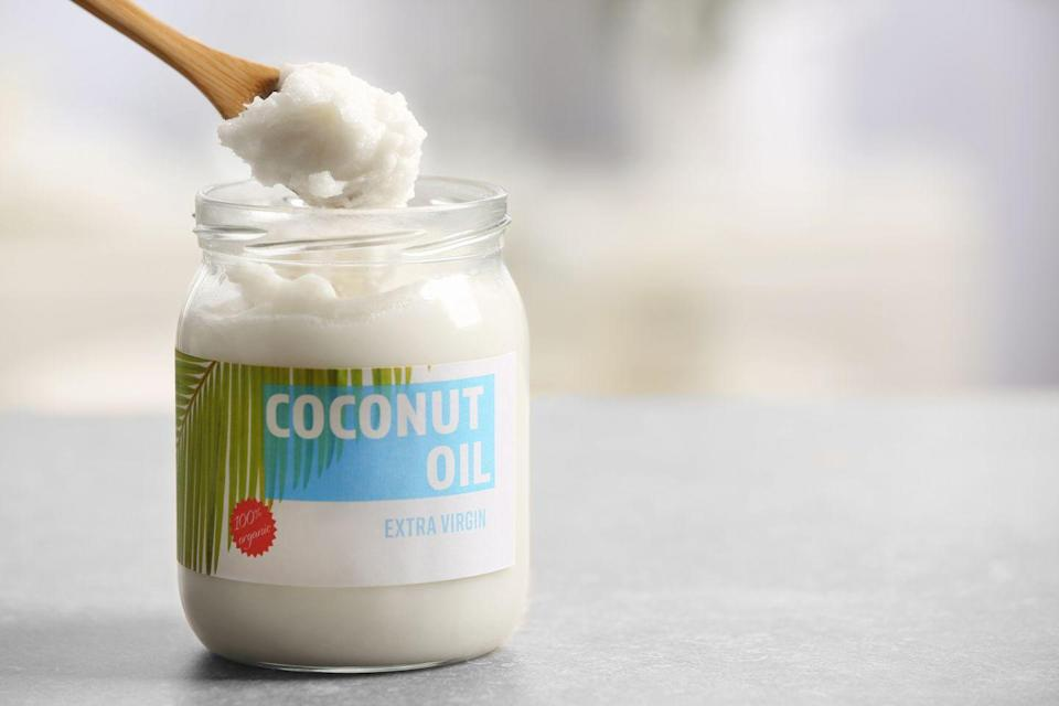"""<p>Coconut oil is another great shortening substitute. It has a similar texture and is also vegan, too. You can swap it in one-for-one, but just remember that it will likely give your baked goods a very slight coconut flavor.</p><p><a class=""""link rapid-noclick-resp"""" href=""""https://go.redirectingat.com?id=74968X1596630&url=https%3A%2F%2Fwww.walmart.com%2Fsearch%2F%3Fquery%3Dwooden%2Bspoons&sref=https%3A%2F%2Fwww.thepioneerwoman.com%2Ffood-cooking%2Fcooking-tips-tutorials%2Fg34577150%2Fshortening-substitute%2F"""" rel=""""nofollow noopener"""" target=""""_blank"""" data-ylk=""""slk:SHOP WOODEN SPOONS"""">SHOP WOODEN SPOONS</a></p>"""