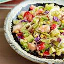 <p>The smoky flavors of grilled shrimp and corn in this healthy chopped salad recipe are a tasty match for the creamy cilantro dressing.</p>