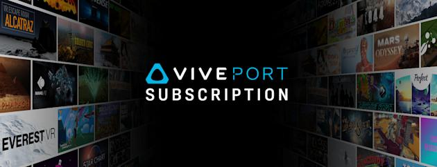 HTC's Viveport VR Subscription Service May Come to the Oculus Rift