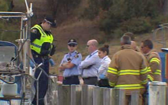 Emergency services were called out to the bay after the bodies were discovered around 8am.Source: 7 News.