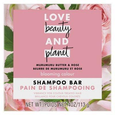 """<p><strong>Love Beauty and Planet</strong></p><p>target.com</p><p><strong>$4.99</strong></p><p><a href=""""https://www.target.com/p/love-beauty-and-planet-muru-muru-shampoo-bar-4oz/-/A-76307054"""" rel=""""nofollow noopener"""" target=""""_blank"""" data-ylk=""""slk:Shop Now"""" class=""""link rapid-noclick-resp"""">Shop Now</a></p><p>Designed for color treated locks, this bar is infused with murumuru butter to safeguard strands from environmental damage and color fading while infusing it with moisture. Coconut oil brings even more hydration for thirsty strands.</p>"""