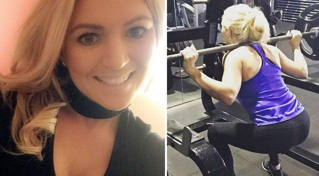 Ms Hefford had been competing in bodybuilding tournaments since 2014. Source: Instagram