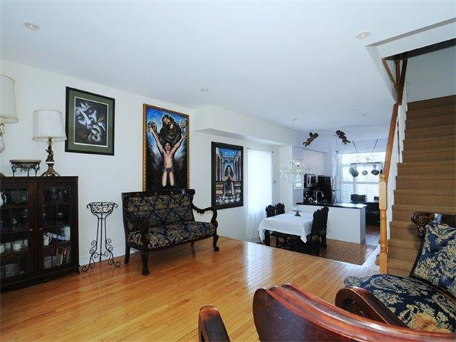 "<p><a href=""https://www.zoocasa.com/toronto-on-real-estate/5066511-16-old-primrose-lane-toronto-on-m5a4t1-c4035248"" rel=""nofollow noopener"" target=""_blank"" data-ylk=""slk:16 Old Primrose Lane, Toronto, Ont."" class=""link rapid-noclick-resp"">16 Old Primrose Lane, Toronto, Ont.</a><br> This Victorian-style freehold townhome has 1,471-square-feet of space (plus basement).<br> (Photo: Zoocasa) </p>"