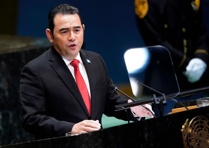 Outgoing Guatemala leader denies agreeing to take Mexican migrants from U.S