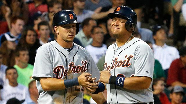 Miguel Cabrera leaves game early with sore hip flexor
