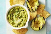 "<p>The secret to super-addictive guac is grilled avocados. Throw a steak on the grill while you're at it, to serve with the dip.</p><p><em><em><em><a href=""https://www.goodhousekeeping.com/food-recipes/a38753/smoky-guacamole-recipe"" rel=""nofollow noopener"" target=""_blank"" data-ylk=""slk:Get the recipe for Smoky Guacamole »"" class=""link rapid-noclick-resp"">Get the recipe for Smoky Guacamole »</a></em> </em></em> </p>"