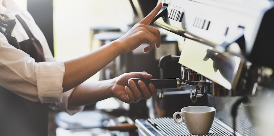 Coffee shops face going out of business in the UK. Photo: Getty