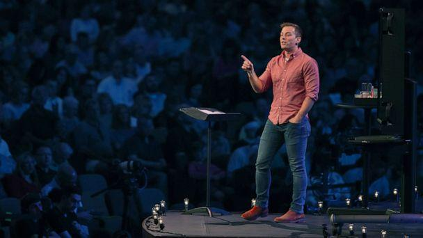 PHOTO: Pastor Josh Howerton's Lake Pointe Church used donations to pay off $2.6 million in medical debt for 2,400 families in Texas. (Jordan Parker/Lake Pointe Church)