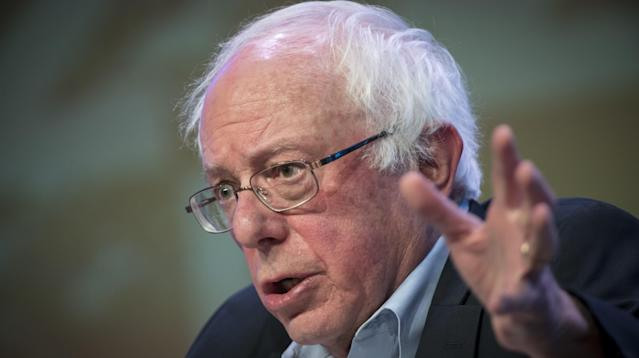 Sen. Bernie Sanders (I-Vt.) on Tuesday offered a cautiously optimistic review
