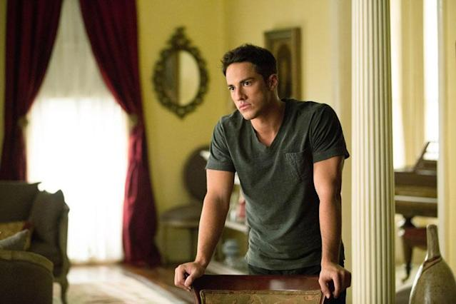 "Michael Trevino as Tyler in ""The Killer,"" the fifth episode of ""The Vampire Diaries"" Season 4."