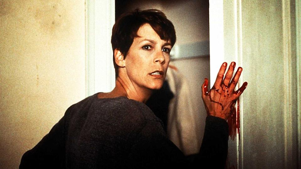 Jamie Lee Curtis in Halloween H20 (credit: Miramax)