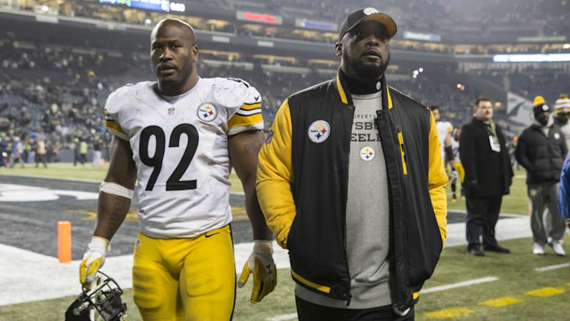 Steelers coach Mike Tomlin says TJ Watt could play Sunday