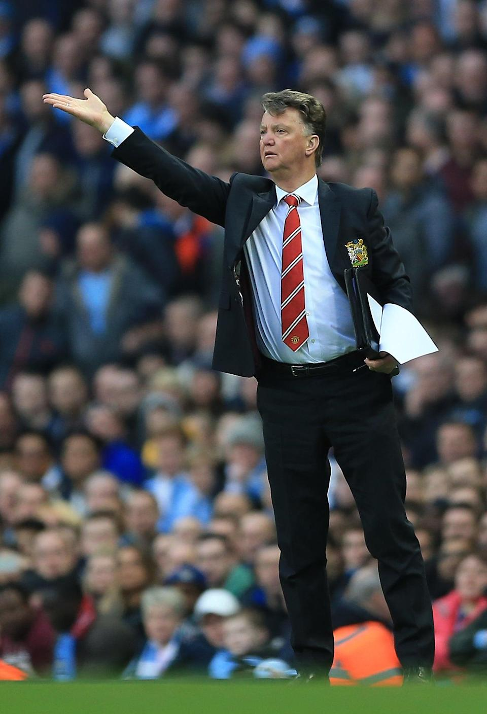 Louis van Gaal held the position from 2014 until 2016 (Nigel French/PA) (PA Archive)
