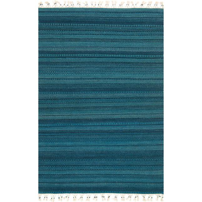 Joanna Gaines Pier 1 Turquoise Rug