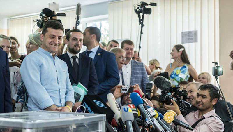 Ukraine Elections 2019: Volodymyr Zelensky Party Wins Absolute Majority in Parliament Vote
