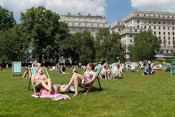 Today is set to be the hottest day of the year with parts of England set to sizzle as temperatures beat those in Portugal, Turkey and Spain.