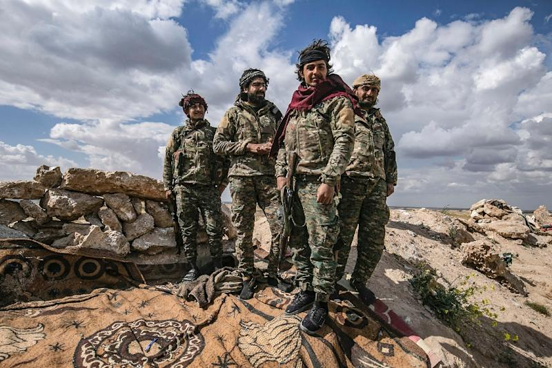 The Kurdish-led Syrian Democratic Forces have spearheaded an offensive in Syria against the Islamic State group (AFP Photo/Delil SOULEIMAN)