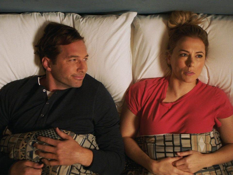 dennis kelly and andrea singer in good on paper netflix movie