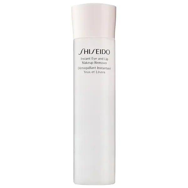 <p>While eye makeup may be one of the trickiest and most common products to take off at the end of the day, this top-rated <span>Shiseido Instant Eye And Lip Makeup Remover</span> ($30) handles that <em>and</em> long-lasting lipstick, too.</p>