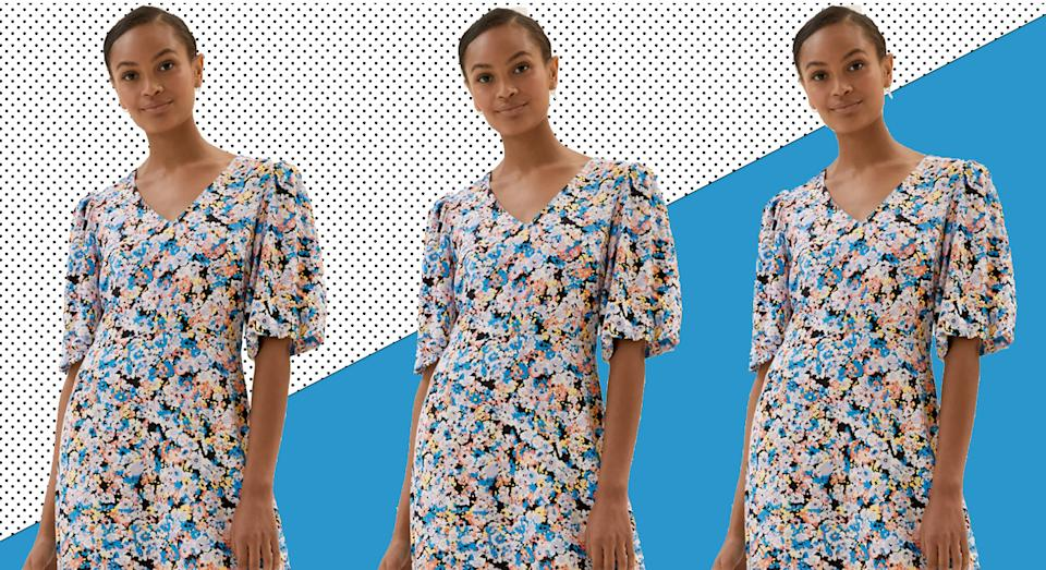 We are lusting after this M&S dress that's under £40 - here's why.  (Yahoo Style UK/ Marks and Spencer)