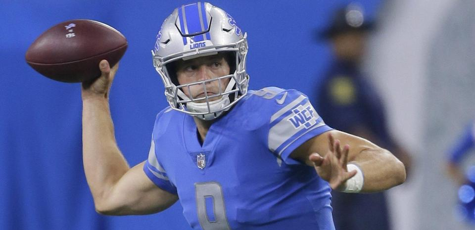 Not a great start to the year for Matthew Stafford. (AP)<br>