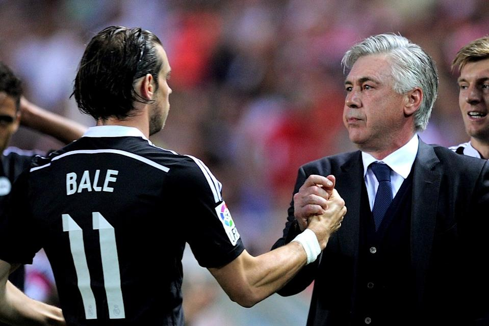 <p>Gareth Bale won the Champions League under Carlo Ancelotti at Real Madrid in 2014</p> (Getty Images)