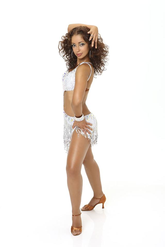"Grammy Award® winning multi-platinum artist Mya competes in season 9 of ""Dancing with the Stars."""