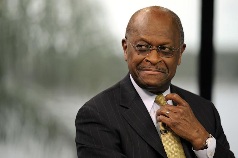 Trump considering picking Herman Cain for Fed board
