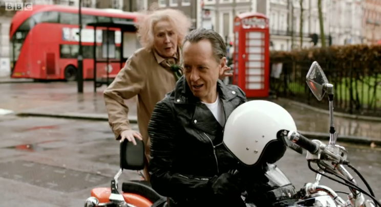 Richard E. Grant is Nan's hero