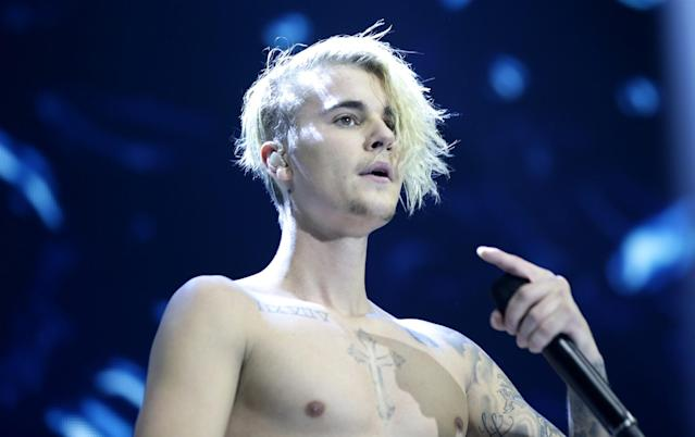"<p>One report says Bieber cancelled his Purpose tour because he <a href=""http://www.tmz.com/2017/07/25/justin-bieber-canceled-tour-dedicated-religion-hillsong-church/"" rel=""nofollow noopener"" target=""_blank"" data-ylk=""slk:""rededicated his life to Christ."" class=""link rapid-noclick-resp"">""rededicated his life to Christ.</a>""<br>(Canadian Press) </p>"